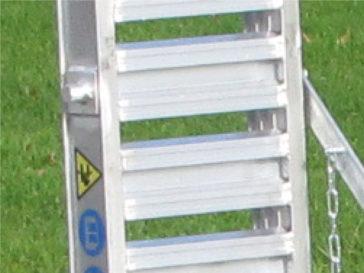 Rampes aluminium réglables en largeur