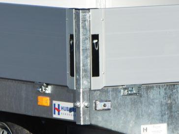 Aluminium sides