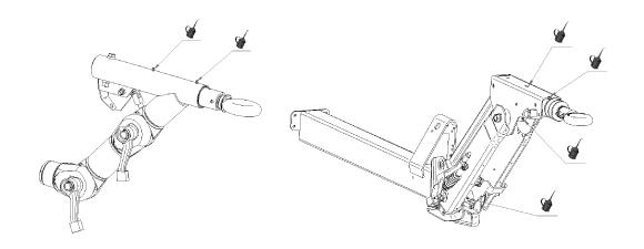 Entretien timon réglable en hauteur remorque Hubière